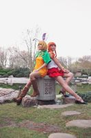 Nami and Carrot, One Piece Mink Arc Cosplay by firecloak