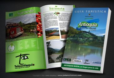 Guia Turistica de Antioquia by JulianArbelaez