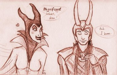Loki meets... by lushind