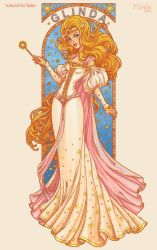 Glinda- the Good Witch of the South by dimary