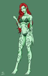 Summertime Poison Ivy (Earth-27) commission by phil-cho