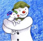 The Snowman And The Snowdog by Jade-Viper