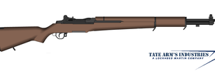 Tate Arm's TAM-1 Garand by GeneralTate