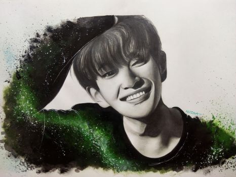 #9YearsWithSHINee - Onew by Art-Ablaze