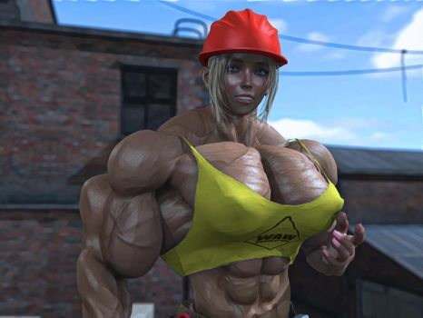 builder girl2 by alessandro2012
