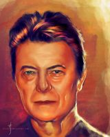 52 Portraits #19: Bowie by rflaum