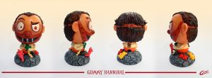 Wooden Toy Gummy Hannibal by Akriel