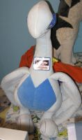 GIANT LUGIA front pose- bed by Eternalskyy