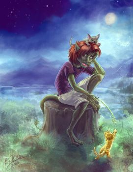 I'm Allergic to Earth by Daroneasa