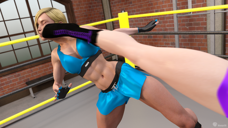 Commission: Andy vs Kyoko - 31 by Mango3D