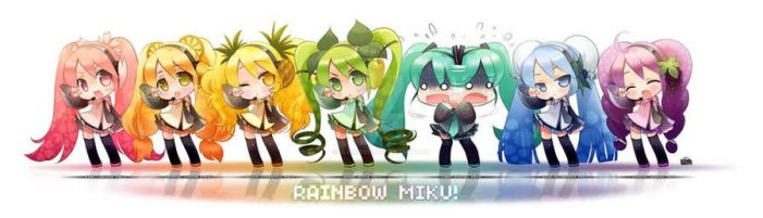 Rainbow MIKU by ulenardis