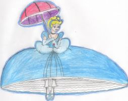 Parachuting Cinderella by Aquateen510