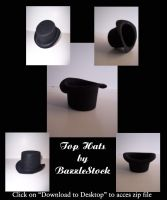 top hat by BazzleStock