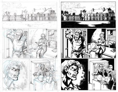 The Shadow Over Innsmouth Page 2 INKS by TCBaldwin