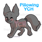 Pillowing YCH // OPEN (other animals accepted) by PurpleFoxKinz