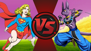 CFC|Pre Crisis Supergirl vs. Beerus by Vex2001