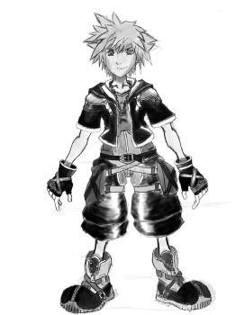 Sora sketch by Insanemac
