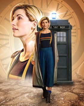 Dr Who Jodie Whittaker by PZNS