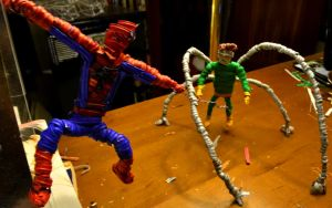 Spidey fights Doc Ock by justjake54