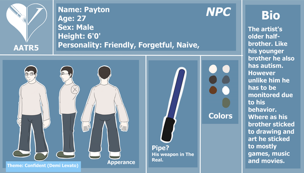 AATR5 NPC-Payton Reference by mattieguy95