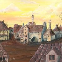 Ankh Morpork - City watch HQ by Holly-Toadstool