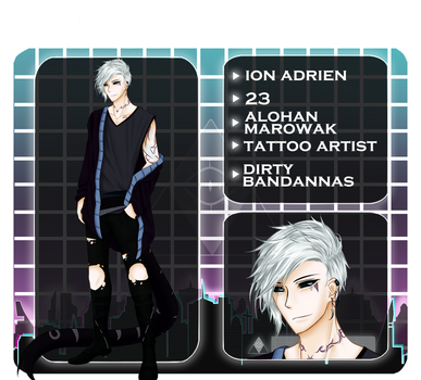 POKEyo-City APP | Ion Adrien by Lost-Abyss