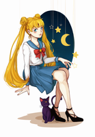 usagi tsukino by strawberry-queen1