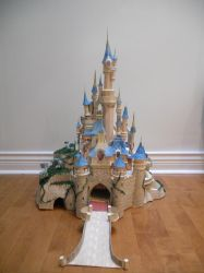 sleeping beauty castle: front by wind0123