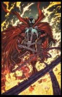 Spawn Colored Version by vmarion07