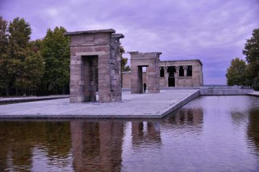 Egyptian Debod Temple by AndySerrano