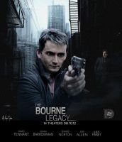 David Tennant - The Bourne  Legacy by DoctorShamrock