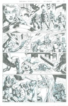 New Avengers Page 6 by 777thorman