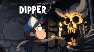 Dipper Title Card by PhintasticParu