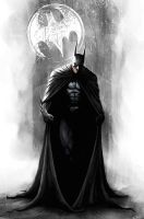 Batman-The Caped Crusader by carstenbiernat