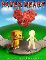 Love is Boundless-Paper Heart by ephorie