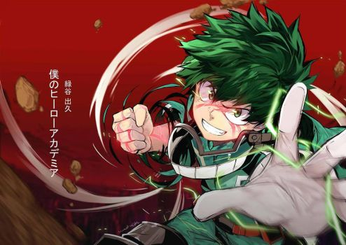 Midoriya Izuku by Closz