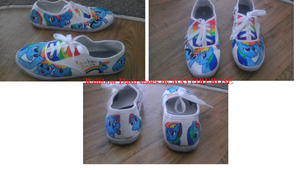 Rainbow Dash shoes by mayfirerose