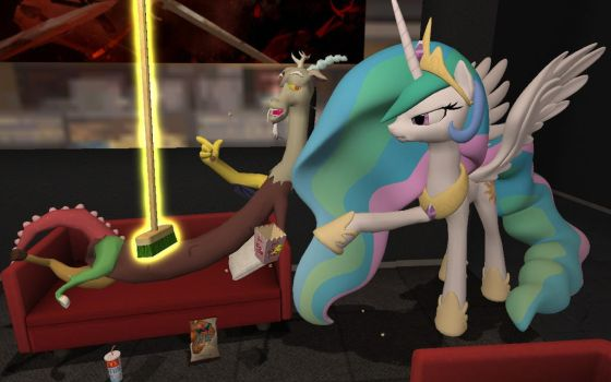 Chaotic Couch-potato by dirtpeanut
