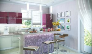 Private home kitchen - hall. 1 by HorheSoloma