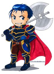 Chibi Hector by Alkanet