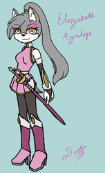 Reference - Elizabeth Agalope by astra-magicka