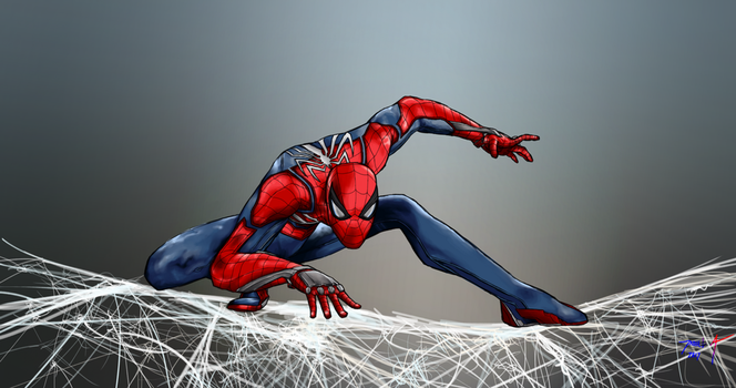 Day 299-Spiderman PS4 by Dan21Almeida95