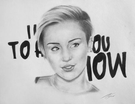 I need to hold you now (Miley Cyrus) by IvanFedorov