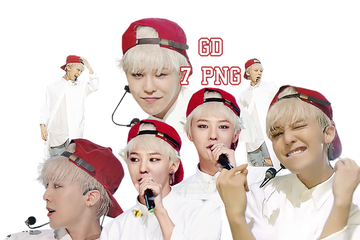 G-Dragon PNG Pack {Who You? Inkigayo} by kamjong-kai