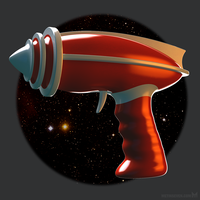 Retro raygun by m7