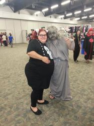 Abby Sciuto and Weeping Angel at SCEE 2014 by xayoz77