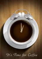 coffee time ad concept by boyasseen