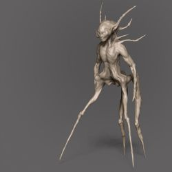 alien-creature01 by boozer