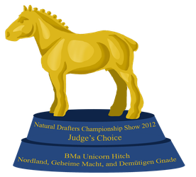 BMa - Unicorn Hitch - Judge's Choice by bovidaeloony