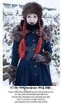 Wintertale Vintage Goth Girl Stock 007 by MADmoiselleMeliStock